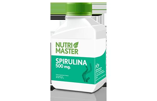 Spirulina 500 mg.