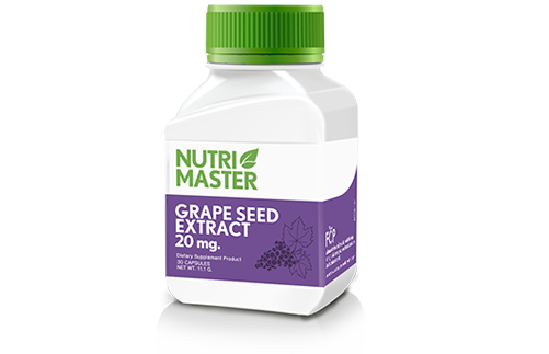 Grape Seed Extract 60 mg.
